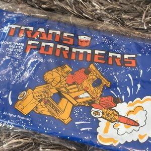 Handbags - Vintage Transformers zipper bag